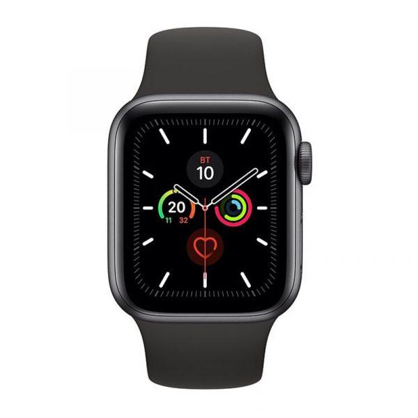 Часы Apple Watch Series 5 GPS 40mm Aluminum Case with Sport Band Space Gray, Black (Черный)-1
