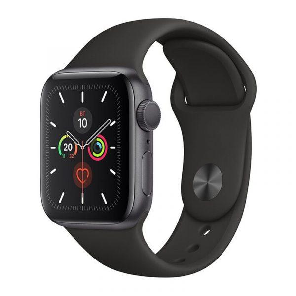 Часы Apple Watch Series 5 GPS 40mm Aluminum Case with Sport Band Space Gray, Black (Черный)