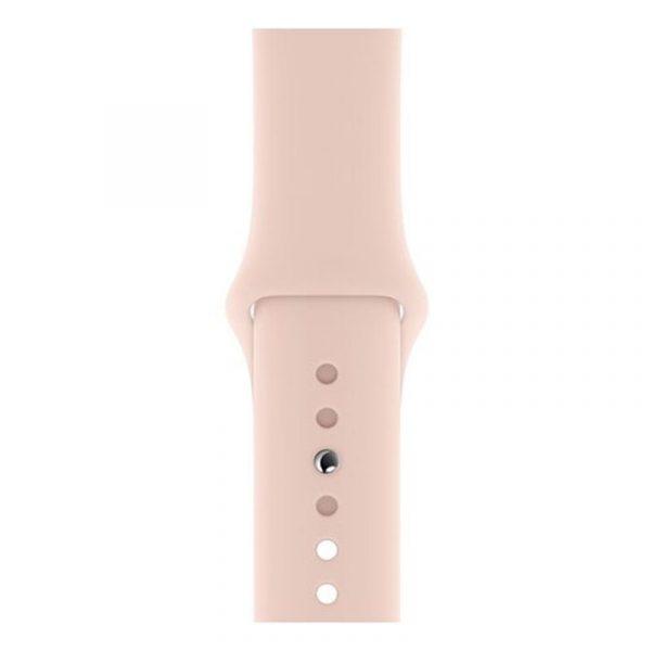 Часы Apple Watch Series 5 GPS 44mm Aluminum Case with Sport Band Gold, Pink Sand (розовый)-2