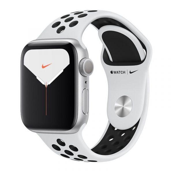 Умные часы Apple Watch Nike Series 5, 40 мм, корпус из алюминия цвета, Silver (серебристый)