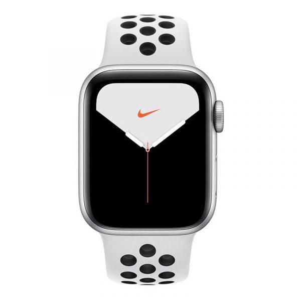 Умные часы Apple Watch Nike Series 5, 40 мм, корпус из алюминия цвета, Silver (серебристый)-1