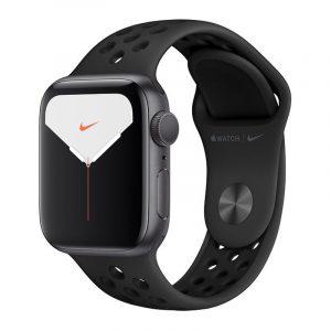Умные часы Apple Watch Nike Series 5, 40 мм, корпус из алюминия цвета, Space Gray (серый космос)