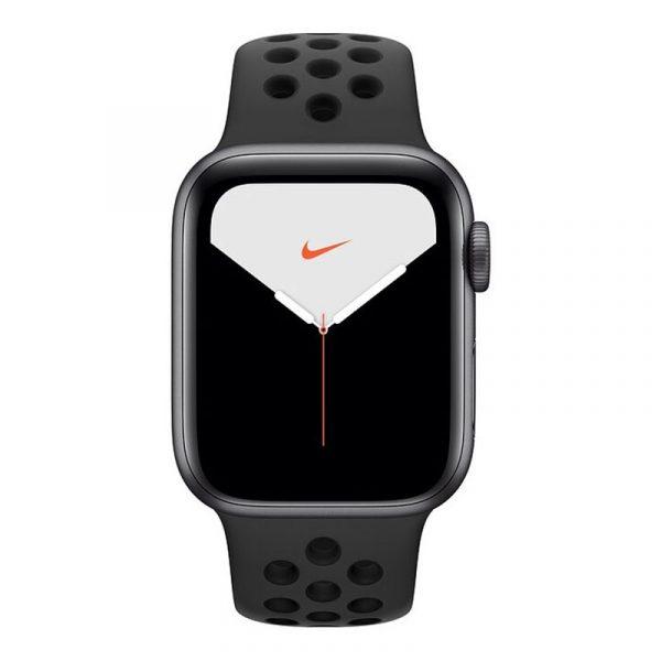 Умные часы Apple Watch Nike Series 5, 40 мм, корпус из алюминия цвета, Space Gray (серый космос)-1