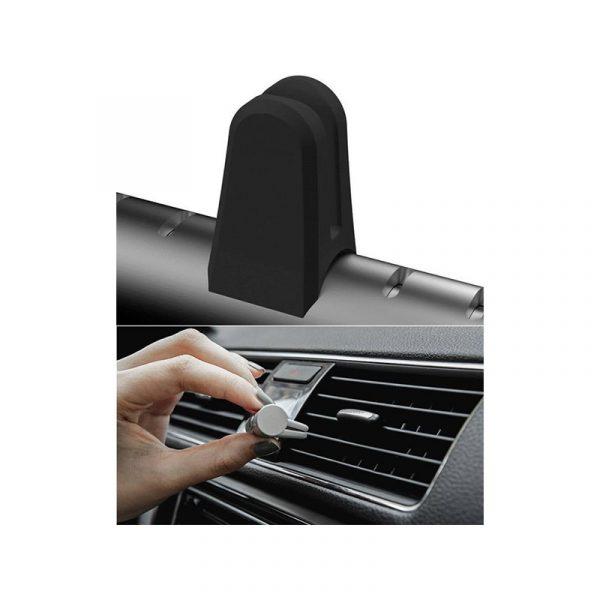 Автомобильный ароматизатор воздуха Xiaomi Guildford Car Air Aromatherapy Small Silver (Серебро)-1
