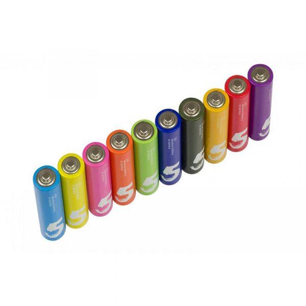 Батарейки Xiaomi Rainbow AA 10 шт-3