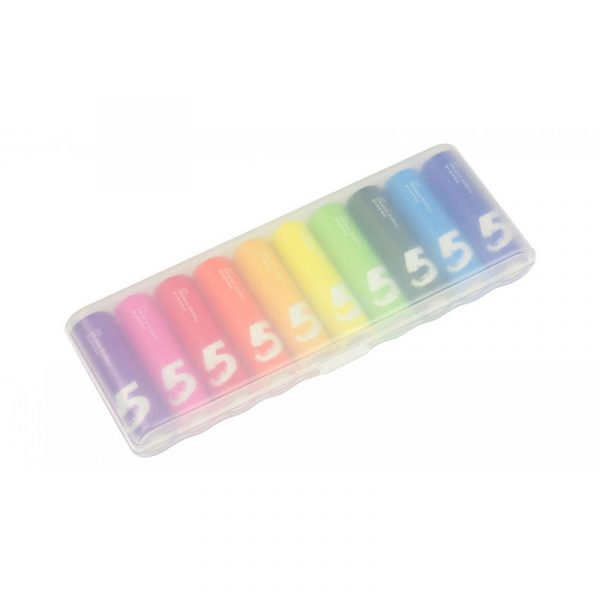 Батарейки Xiaomi Rainbow AA 10 шт-1