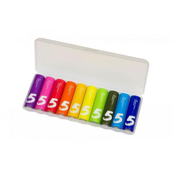 Батарейки Xiaomi Rainbow AA 10 шт-5