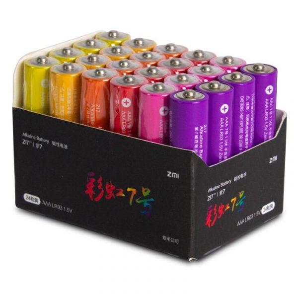 Батарейки Xiaomi Rainbow AAA 10 шт-1