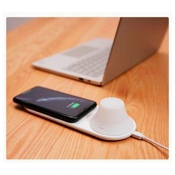 Беспроводное зарядное устройство с ночником Xiaomi Yeelight Wireless Charging Night Light-7