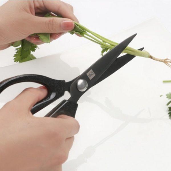 Кухонные ножницы Xiaomi HuoHou Hot Kitchen Scissors Black (Черные)-4