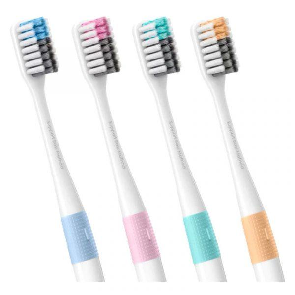 Набор зубных щеток Xiaomi Doctor BBass (4шт)-1