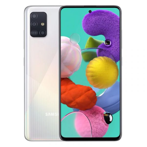Смартфон Samsung Galaxy A51 (2019) 128 Gb White (Белый)
