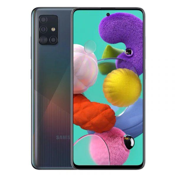 Смартфон Samsung Galaxy A51 (2019) 4/64 Gb Black (черный)