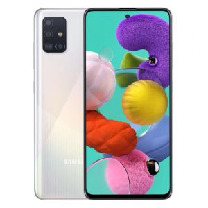 Смартфон Samsung Galaxy A51 (2019) 4/64 Gb White (белый)