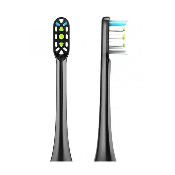 Сменные насадки для зубной щетки Xiaomi Soocas X3 Black (черный) 2 шт.