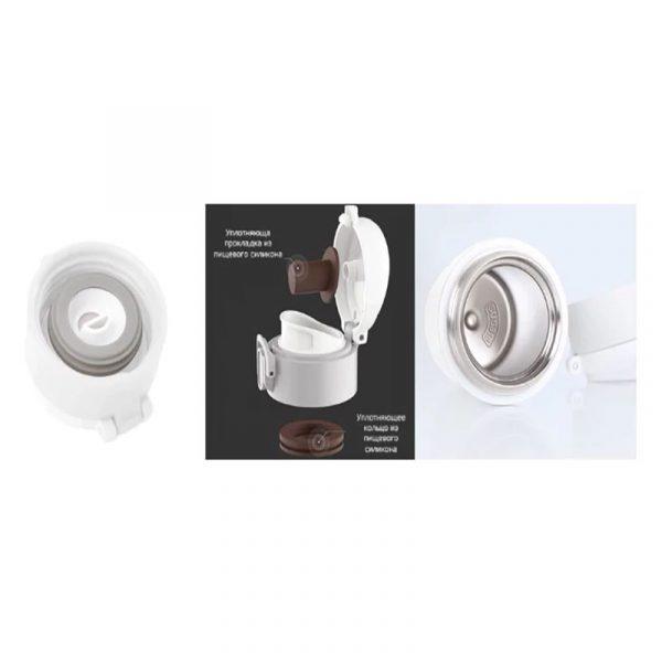 Термос Xiaomi Viomi Stainless Vacuum Cup 460mL White (Белый)-4