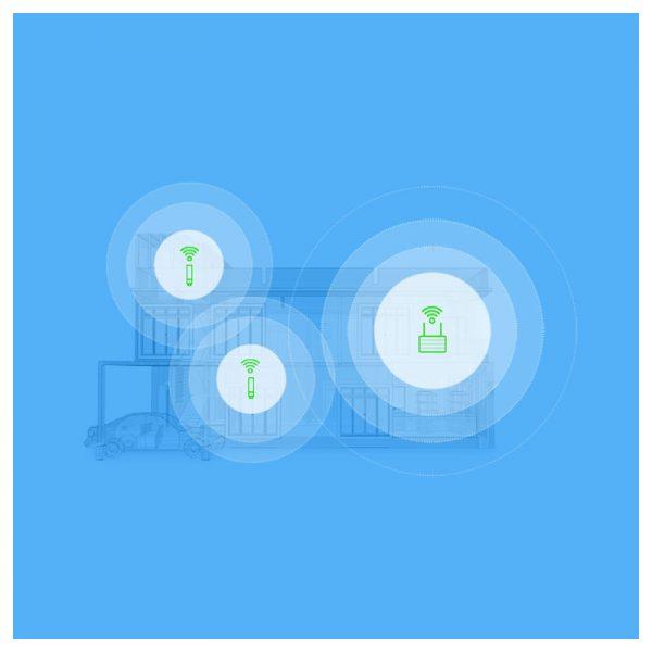 Wi-Fi усилитель сигнала(репитер) Xiaomi Mi Wi-Fi Amplifier 2 White (белый)-2