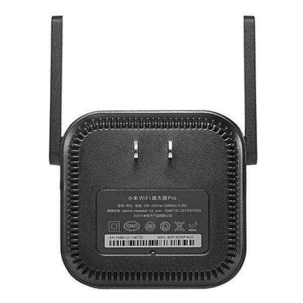 Wi-Fi усилитель сигнала (репитер) Xiaomi Mi Wi-Fi Amplifier Pro Black (черный)-6