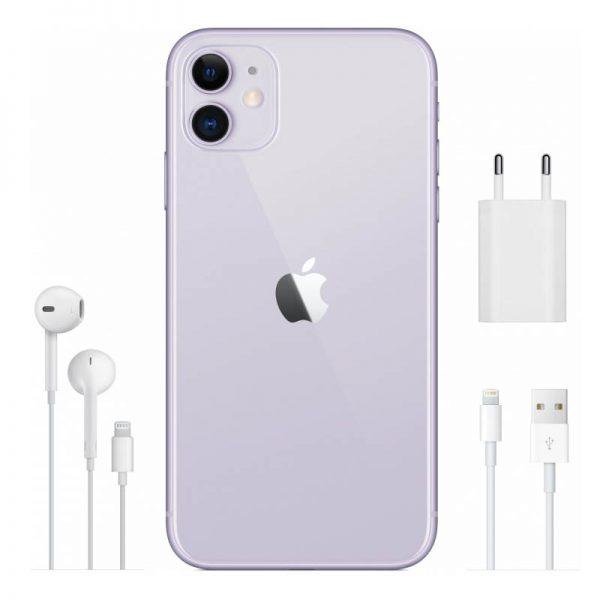 Apple iPhone 11 128GB (фиолетовый)-7