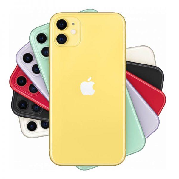 Мобильный телефон Apple iPhone 11 256GB (желтый)-2