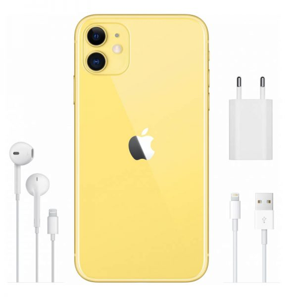 Мобильный телефон Apple iPhone 11 256GB (желтый)-5