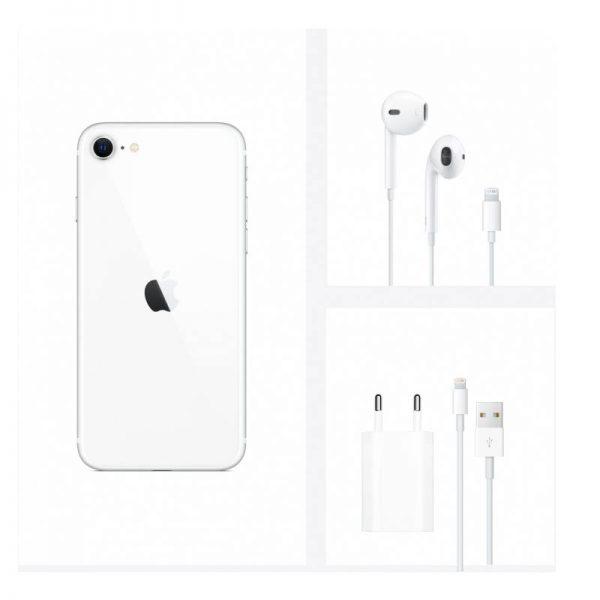 Мобильный телефон Apple iPhone SE 2020 128GB (белый)-7