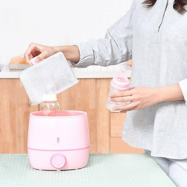 Подогреватель-стерилизатор Xiaomi Kola Mama Double Bottle Warmer-2