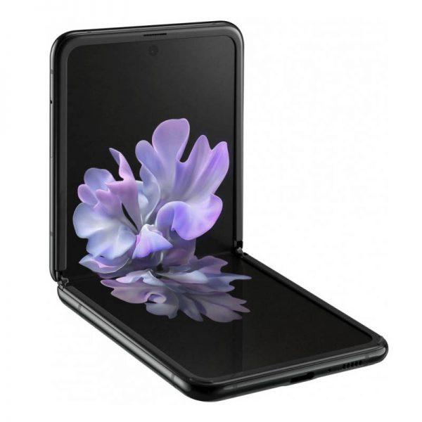 Мобильный телефон Samsung Galaxy Z Flip (черный бриллиант)-1