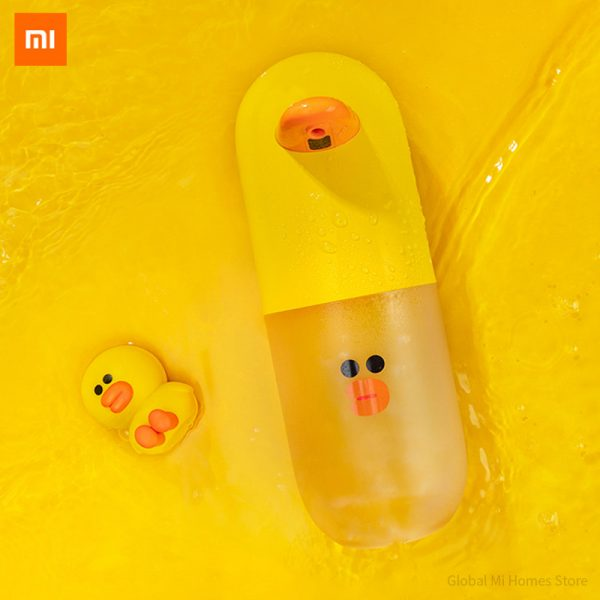 Xiaomi Linefriends Auto Induction Foaming Hand Cleaner Yellow-2