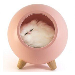 Ночник Lucia 120 котенок в домике