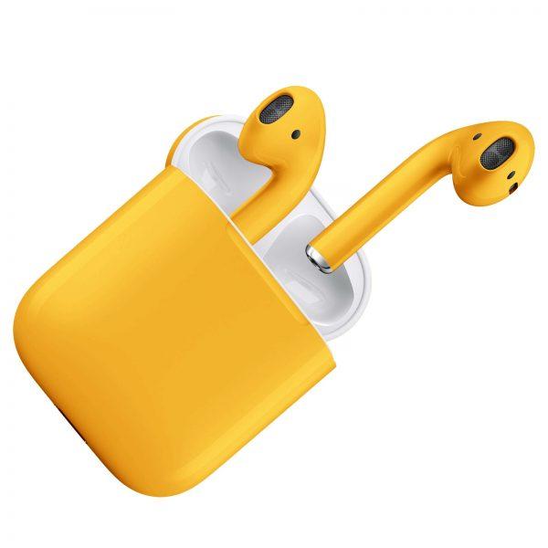 Apple Airpods 2 Желтый глянец