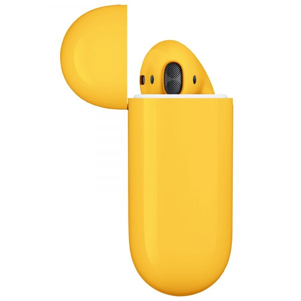 Apple Airpods 2 Желтый глянец2