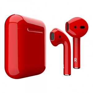 Apple Airpods 2 Красный глянец