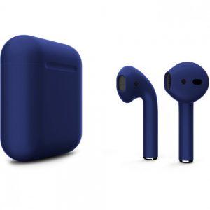 Apple Airpods 2 Синий матовый