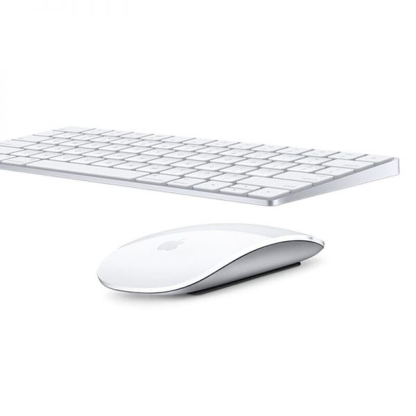 Apple Keyboard + Magic Mouse White Рст