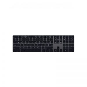 Apple Keyboard with Numeric Keypad Black Рст
