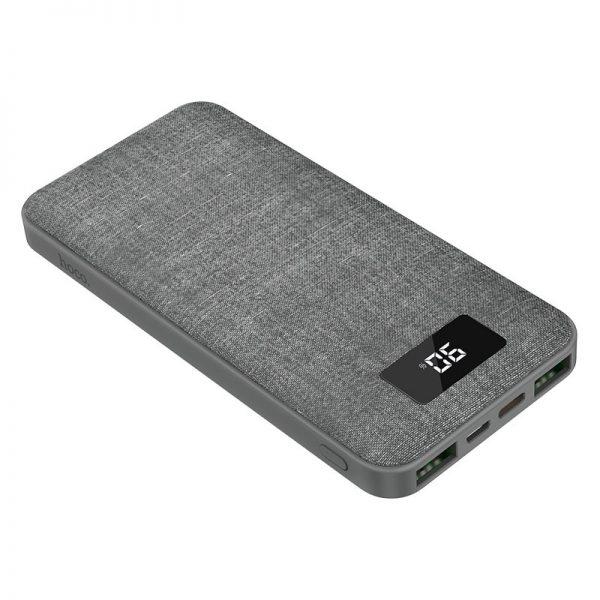 HOCO J47 PD+QC 3.0-10000mAh Gray