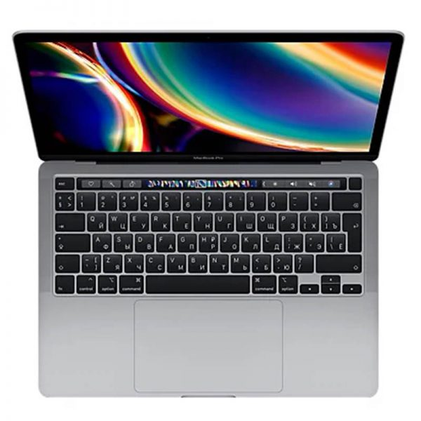 "Ноутбук Apple MacBook Pro 13"" Core i5 1,4 ГГц, 8 ГБ, 256 ГБ SSD, Iris Plus 645, Touch Bar, Space gray (серый космос) (MXK32) - 1"