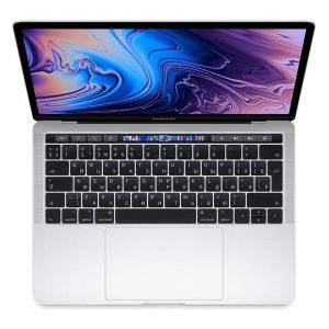 Ноутбук Apple MacBook Pro 13 Touch Bar / i5 Quad (2.4) / 8Gb / 512GB SSD / Iris Plus 655 Silver (серебристый) (MV9A2) - 1