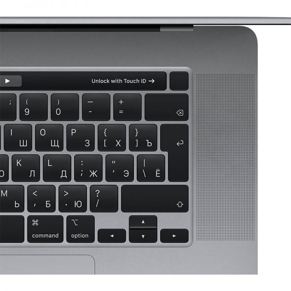 "Ноутбук Apple MacBook Pro 16"" 6 Core i7 2,6 ГГц, 16 ГБ, 512 ГБ SSD, AMD Radeon Pro 5300M, Touch Bar, Space gray (серый космос) (MVVJ2)-4"