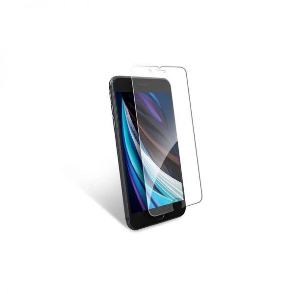 Стекло защитное для iPhone 7 / 8 прозрачное закаленное MOCOLL 2.5D серия Black Diamond - 2