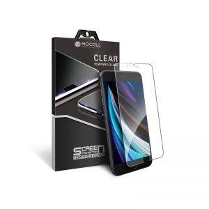 Стекло защитное для iPhone 7 / 8 прозрачное закаленное MOCOLL 2.5D серия Black Diamond