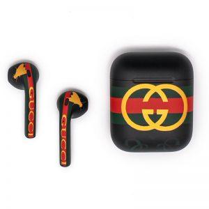 Эксклюзивные наушники Apple Airpods 2 Gucci Гуччи-1