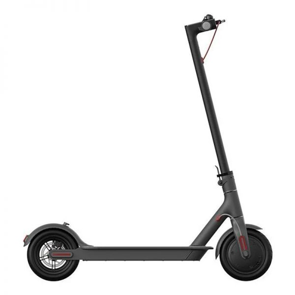 Электросамокат Xiaomi Mi Electric Scooter 1S Black (черный) - 1