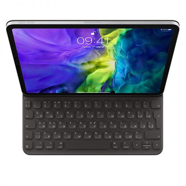 Клавиатура Smart Keyboard Folio для iPad Pro 11 дюймов (2‑го поколения), русская раскладка