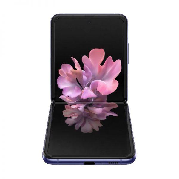Мобильный телефон Samsung Galaxy Z Flip Purple (Сияющий аметист)-4