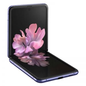 Мобильный телефон Samsung Galaxy Z Flip Purple (Сияющий аметист)-1