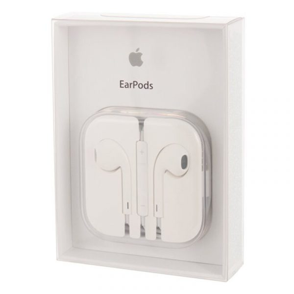 Наушники Apple EarPods с разъёмом 3,5 mm-5
