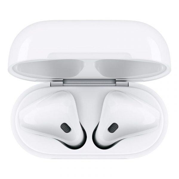 Беспроводные наушники Apple AirPods 2 (с беспроводным зарядным футляром) MRXJ2-1