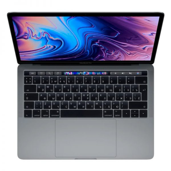 "Ноутбук Apple MacBook Pro 13"" Core i5 1,4 ГГц, 8 ГБ, 128 ГБ SSD, Iris Plus 645, Touch Bar, Space gray (серый космос) (MUHN2)"